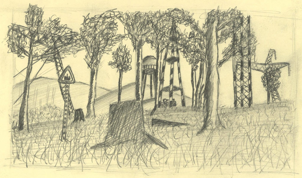 Forest Level Sketch